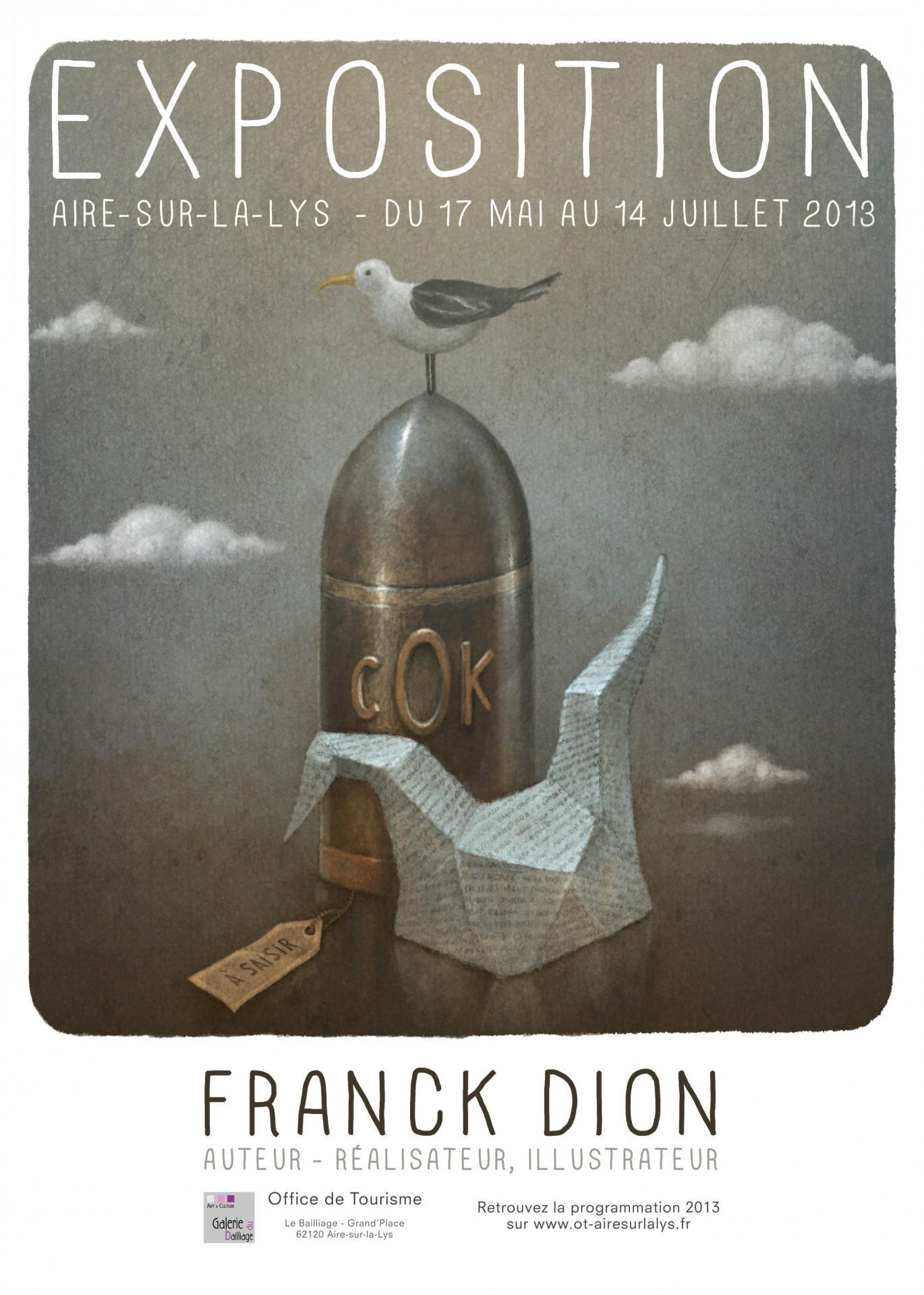 Affiche franck dion