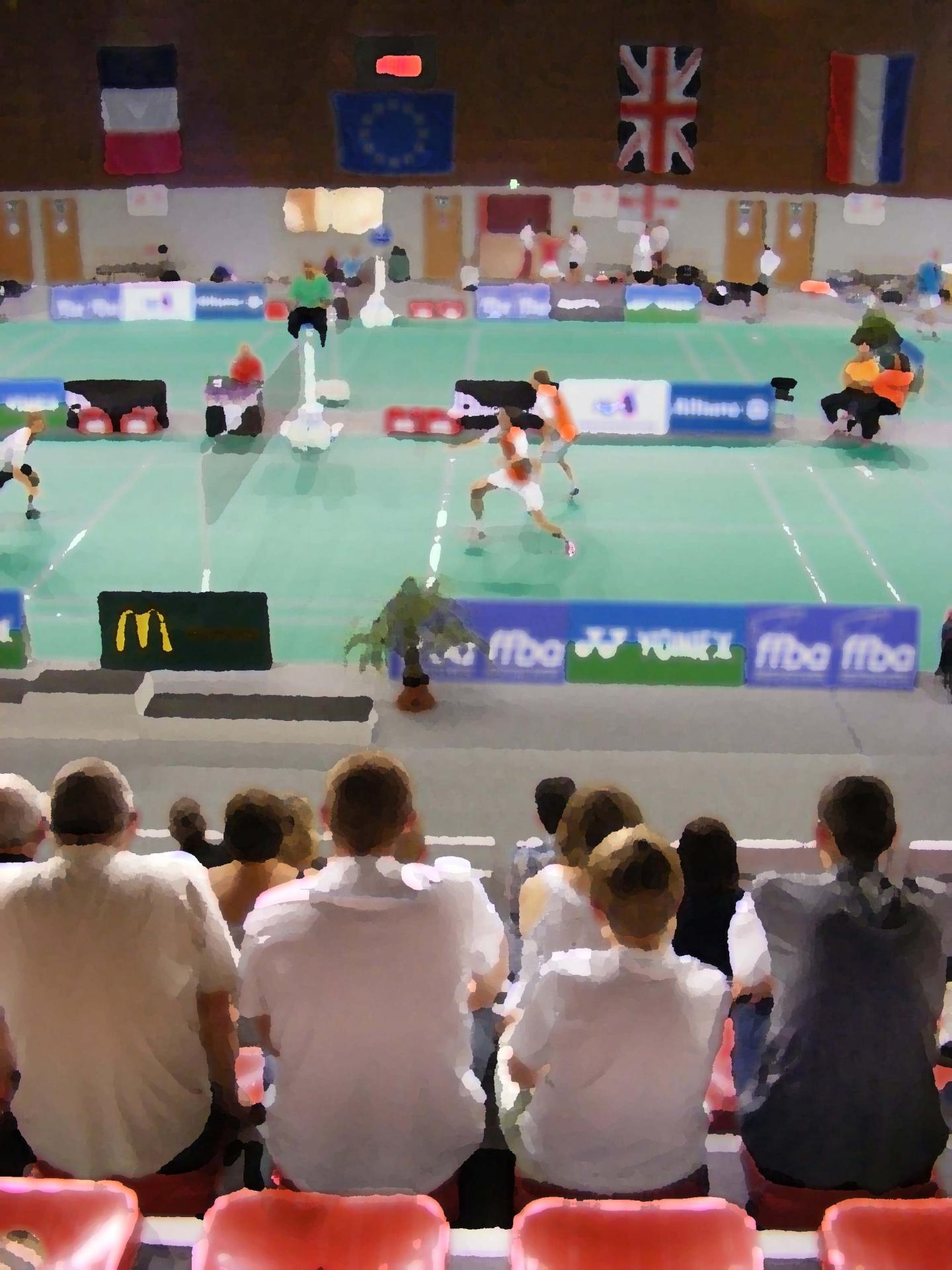 Badminton aire sur la lys