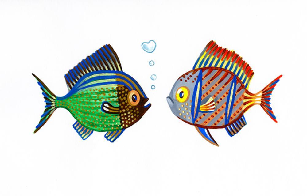 Les petits poissons dans l eau 2