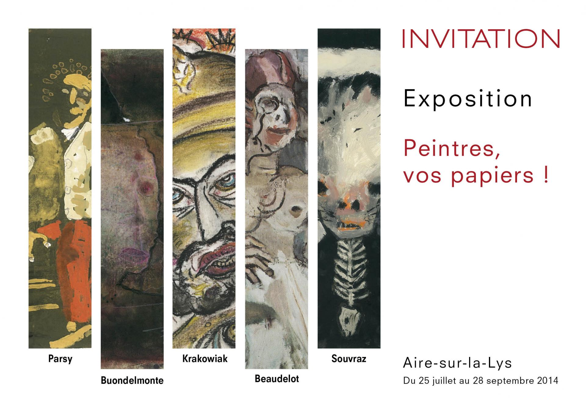Vernissage exposition collective